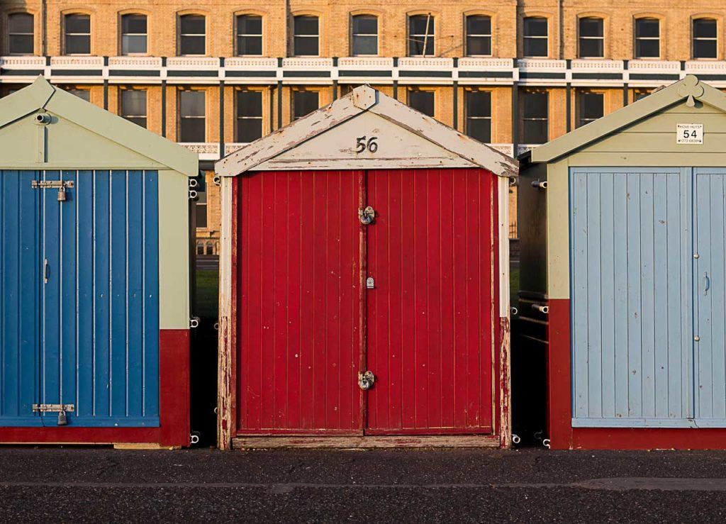 You day trip to Brighton will be packed with colour and let's hope for warm sun shine