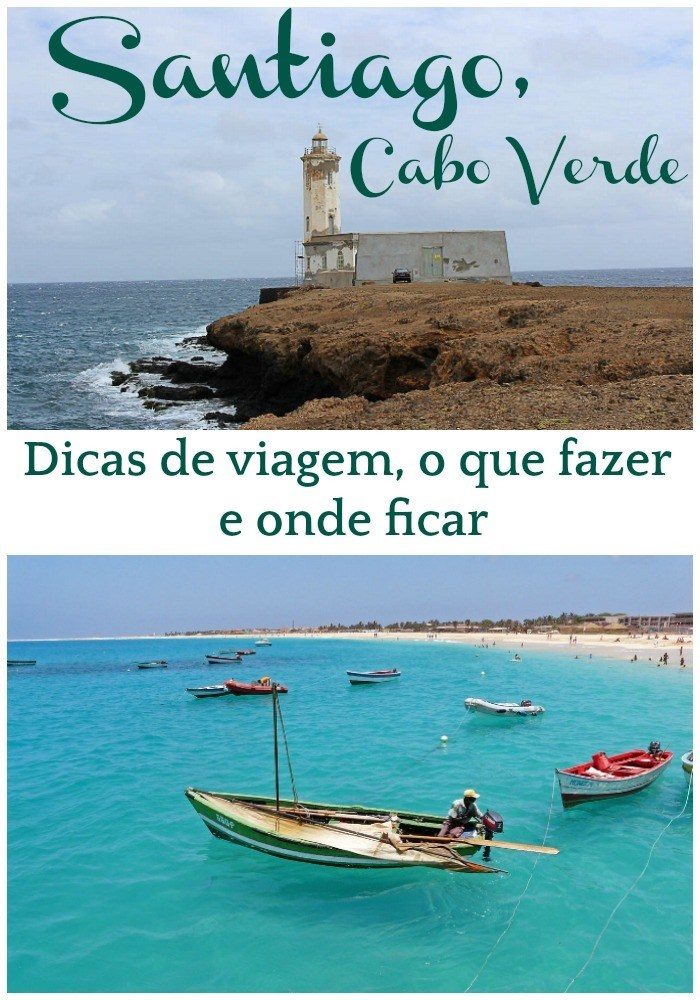 Praias, história e comida boa. Santiago no Cabo Verde é um destino de viagem incrível e pouco explorado pelos turistas. Montamos um roteiro de viagem de um dia com as principais atrações e o que fazer em Santiago. Lugares lindos para visitar e dicas de onde ficar em Santiago, Cabo Verde #Santiago #CaboVerde #IlhadeSantiago #Oquefazer