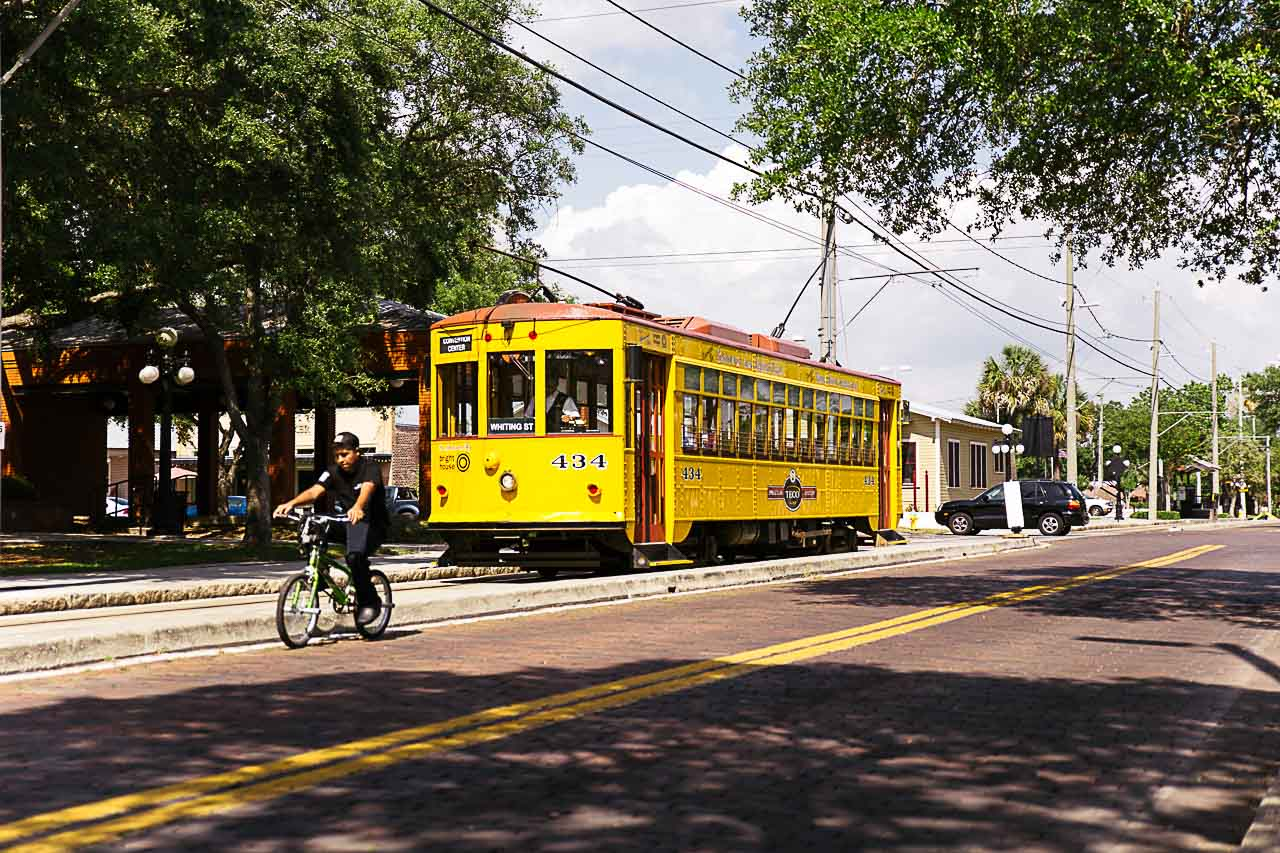 Are you looking for unique things to do in Tampa? Go check the Street Car Line!