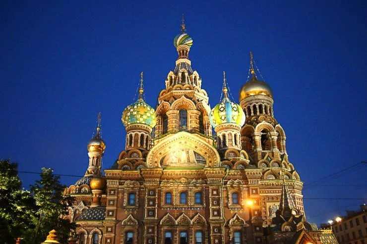 the best places to visit in Saint Petersburg, Russia
