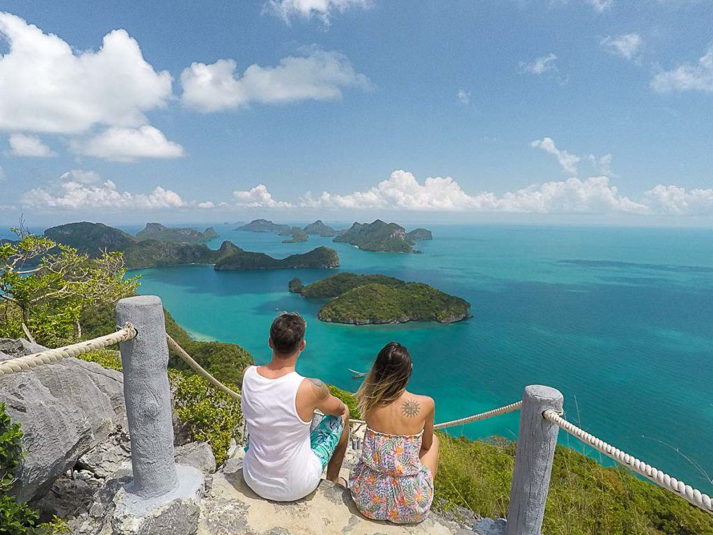 If you need to choose one day trip from Koh Samui, it must be the boat trip to Ang Thong National Park. It's one of the most beautiful marine parks we have ever visited in Thailand.