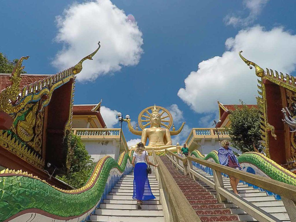Another unmissable thing to do in Koh Samui is to visit the stunning Big Buddha, it's a symbol of the island.