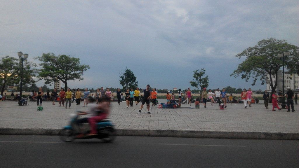 The riverside is a fantastic area for people watching, and it's one of the places you must visit in Phnom Penh.