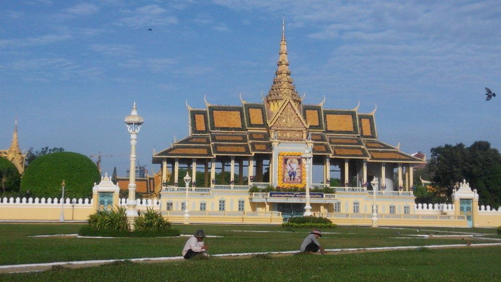 Don't miss the Palace during your one day in Phnom Penh