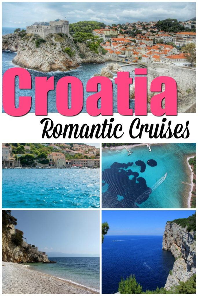 5 Romantic Cruises in Croatia. Travel tips to organize the perfect sailing experience, from one day sailing in Croatia up to an 8-day luxury trip on board a private boat. Amazing itineraries, stunning towns and islands. All you need to know to book the most romantic cruises in the Dalmatian region and enjoy every second of it. #Croatia #CroatiaCruise #CroatiaSailing #CroatiaTravel