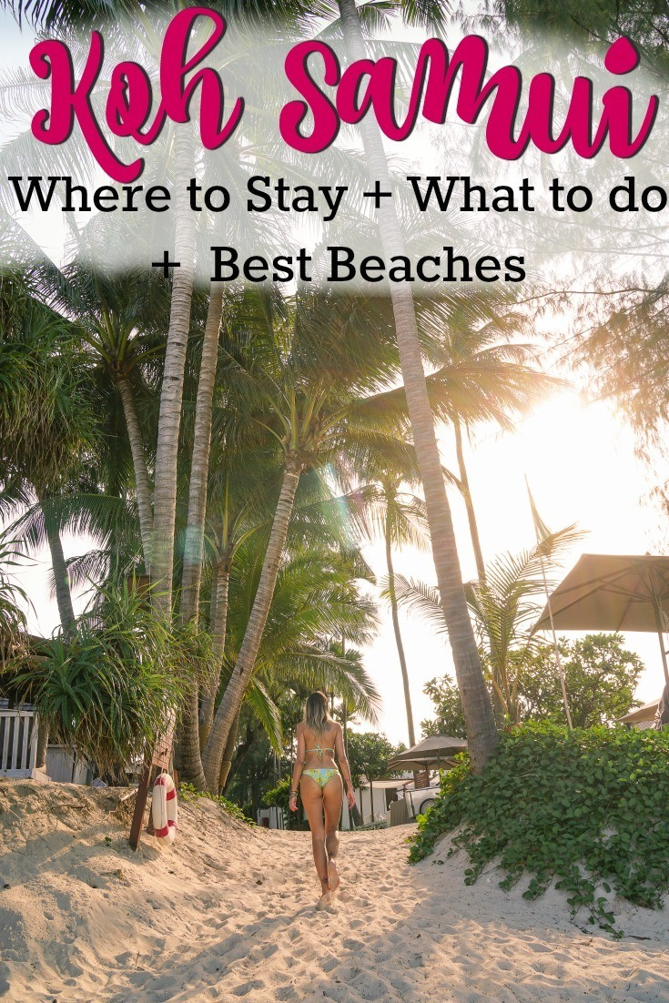 The Ultimate Travel Guide to Koh Samui! All you need to know to plan your trip to this stunning island in Thailand. Things to do in Koh Samui, best beaches, how to get there and around the island. Best areas and hotels to stay in Koh Samui, where to eat and have fun! #KohSamuiTravel #KohSamuiThingstodo #KohSamuiThailand
