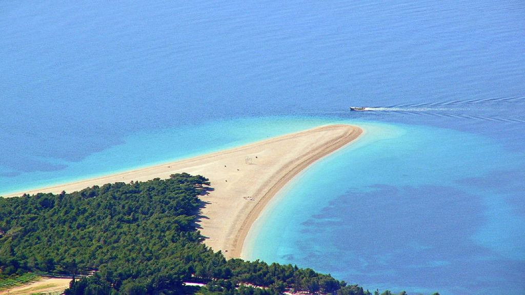 Zlatni Rad is regularly mentioned as one of Croatia's best beaches, so you must add it to your Croatia sailing trip.
