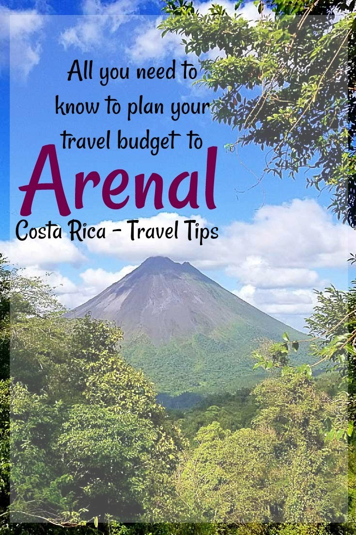 How much does it cost to travel to Arenal, Costa Rica? Find out here, a detailed guide about the all the cost to travel to Arenal and how to save on your next holiday to Costa Rica. Recommendations to book the best accommodation in Arenal, hot springs, transportation and things to do. Travel tips for all types of travelers and budgets. #CostaRica #ArenalCostaRica #ArenalHotSprings