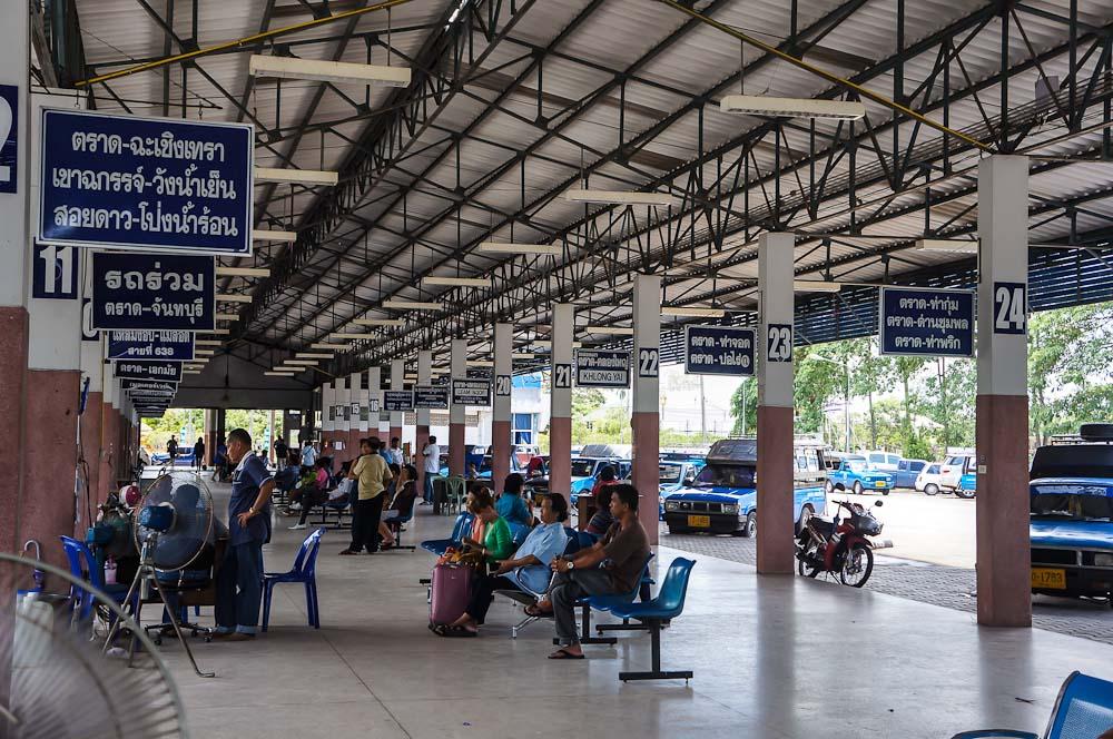 In small cities and villages, the bus stations are smaller and offer fewer services. But that's not a reason to stop you from traveling around Thailand by bus.