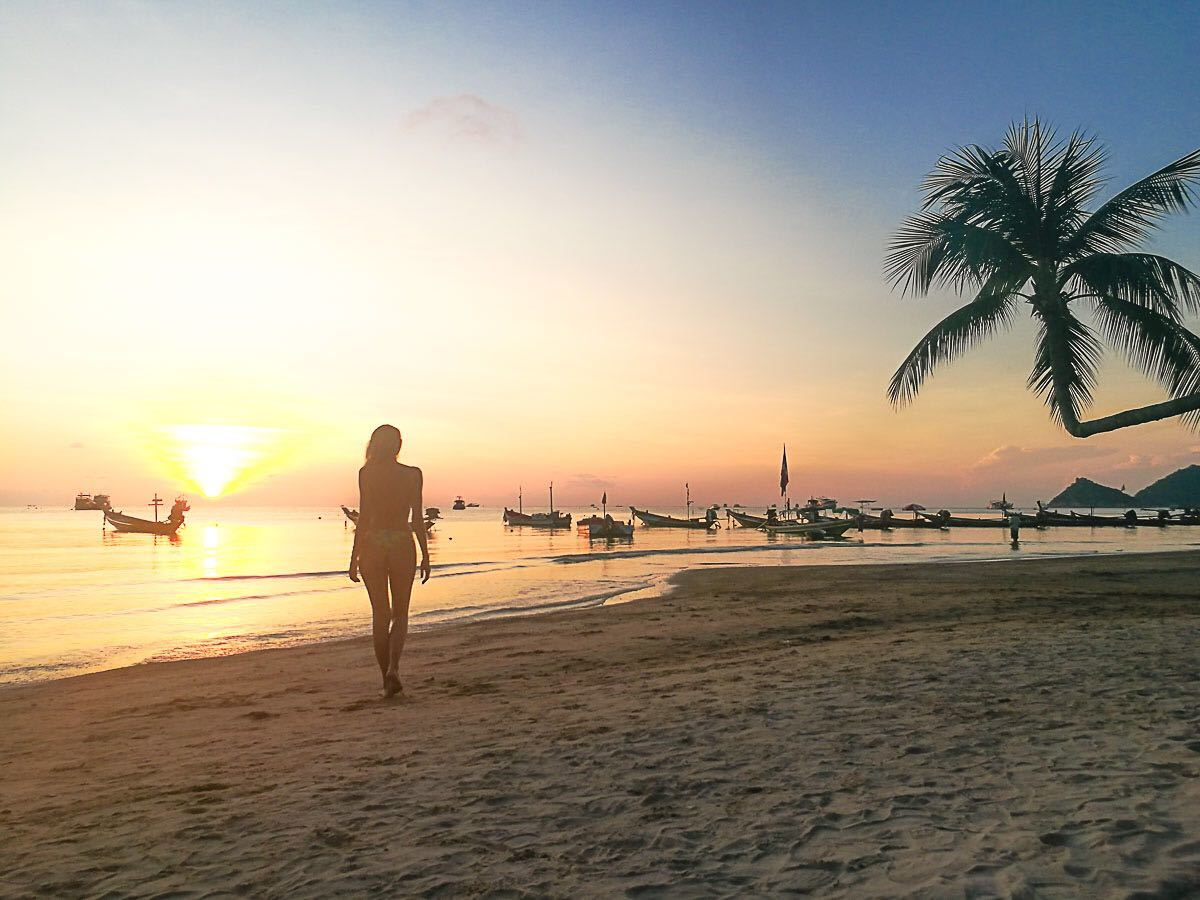 Guide to travel in Thailand by bus - Koh Tao