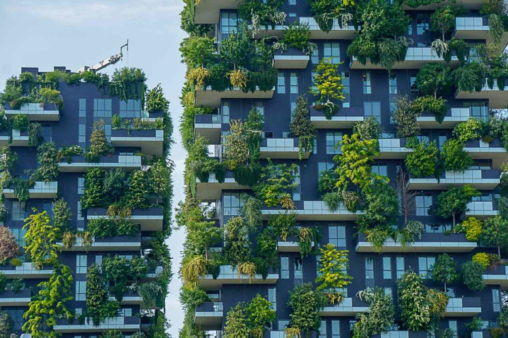 Bosco Verticale is one of the unique places to visit in Milan, Italy.