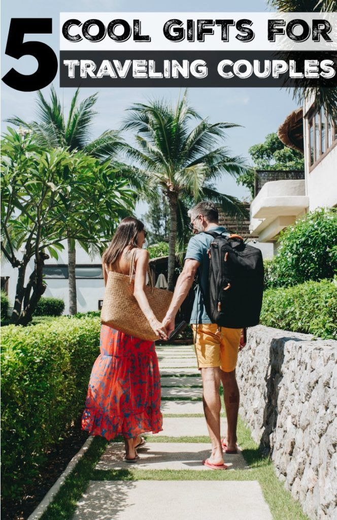 It's time to share our tips and help you buy the best gifts for traveling couples. Travel experiences, personalized products, and gadgets that will make your couple travel gift the coolest of the party. Unique gift ideas that will make the couple's next trip more enjoyable and memorable. #couplegift #travelcouple #travelcouplegiftidea #travelgiftidea