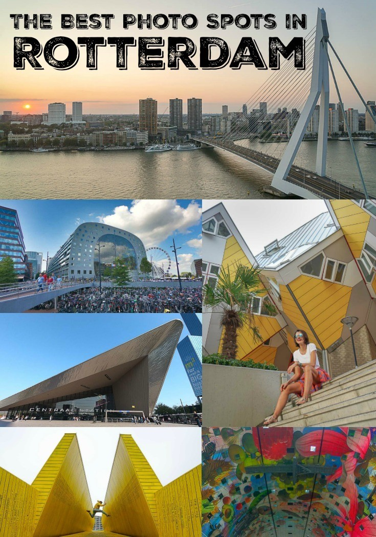 Get your camera ready for the best photo spots in Rotterdam, The Netherlands. From Urban shots to architectural photography and portraits, ideas and photo locations in Rotterdam that will inspire to explore the city. If you like to snap cool shots while traveling in an amazing destination, these Rotterdam photo spots will light up your wanderlust.    