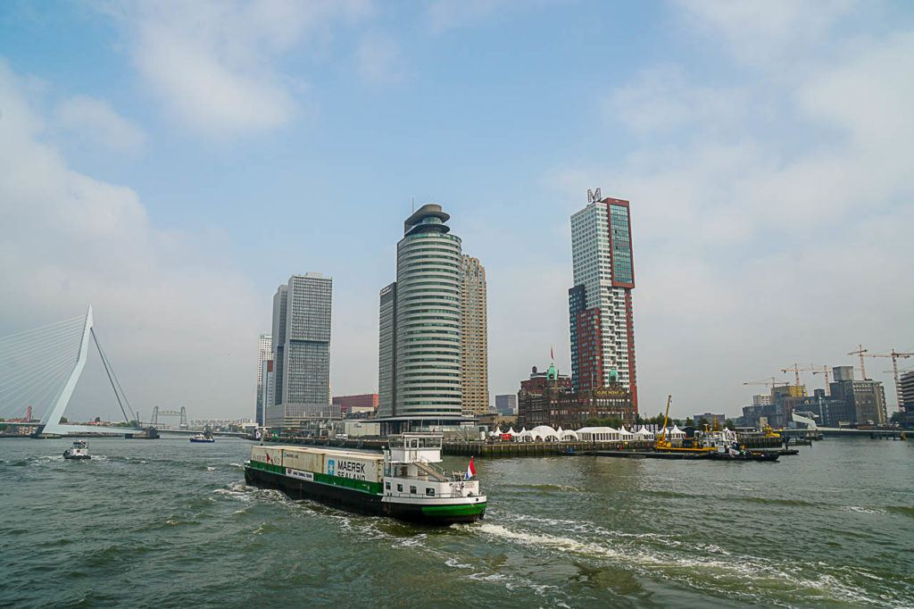 Board on one of Rotterdam boat tours and explore the city by water.