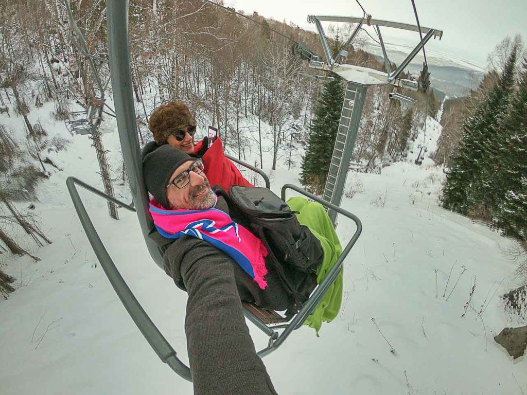When in Altai don't forget to visit Tserkovka Mountain, the cable car ride is great fun.