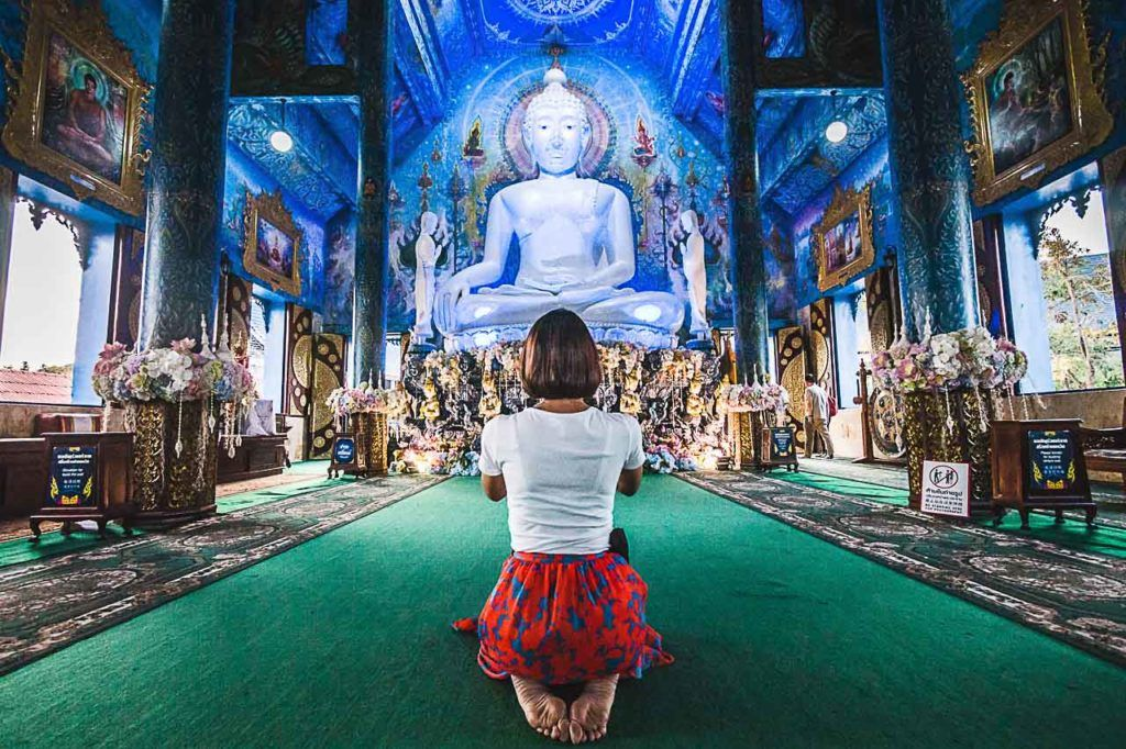 The Blue Temple was the last stop of our day tour in Chiang Rai.