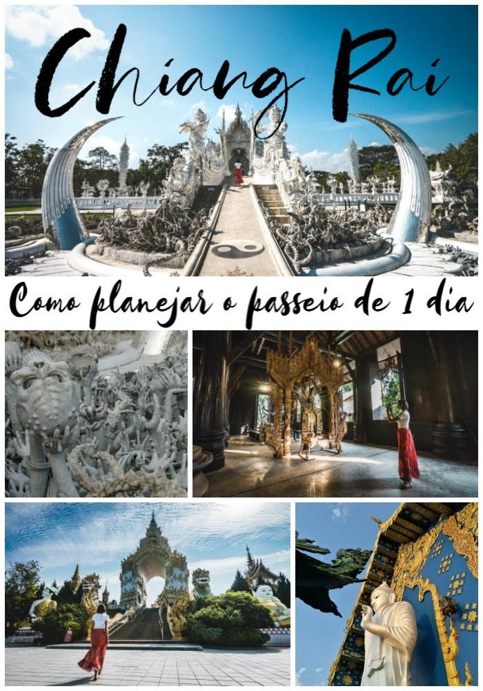 Dicas para planejar a viagem perfeita para Chiang Rai na Tailândia. Como ir de Chiang Mai para Chiang Rai, como escolher o melhor passeio, o que fazer em Chiang Rai e como visitar o Templo Branco. Além de dicas de transporte, hotéis e comida típica do norte da Tailândia.