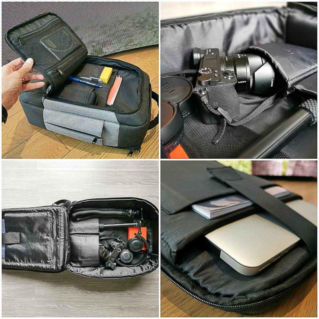 A melhor mochila para o dia a dia e viagem precisa ter bolsos estratégicos e bastante espaço para computador e cameras.