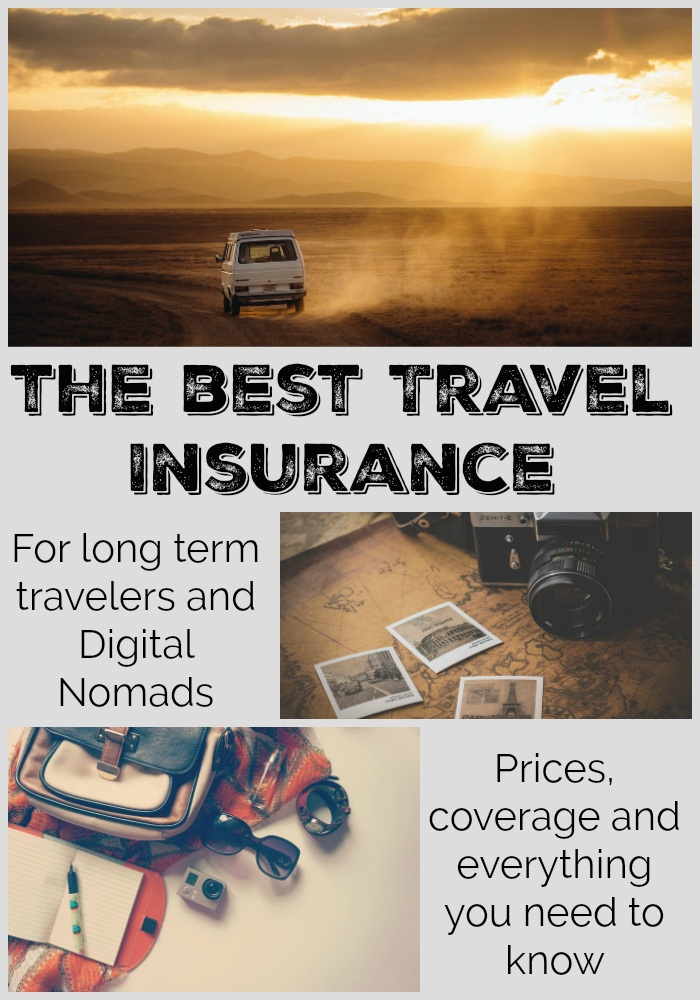 All you need to know to buy the best long term travel insurance. A comprehensive comparison of the two best travel insurance for digital nomads and long term travelers. Prices, coverage, claim procedures and how to renew it. Details you must know before buying worldwide travel insurance that covers medical expenses, travels issues and your belongings. #travelinsurance #digitalnomad #longtermtravel