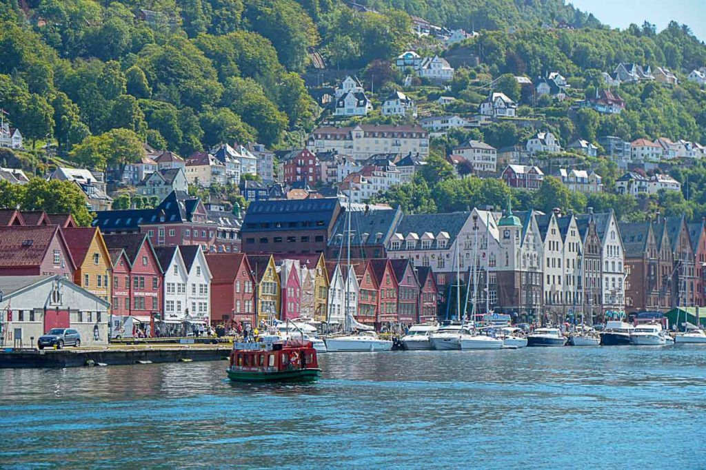 Bergen is a stunning city and that's why most of the Northern Europe Cruises stop there or start from there.