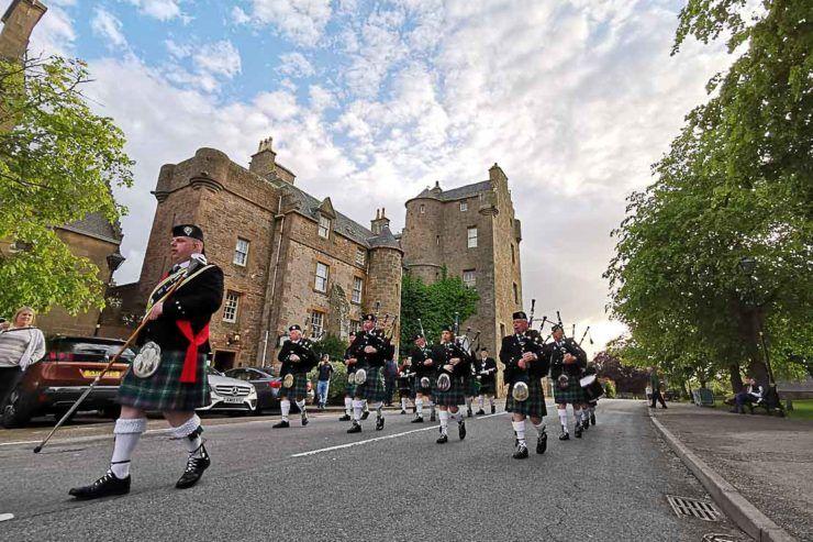 Ficamos surpresos com tanta coisa para fazer em Dornoch na Escócia.