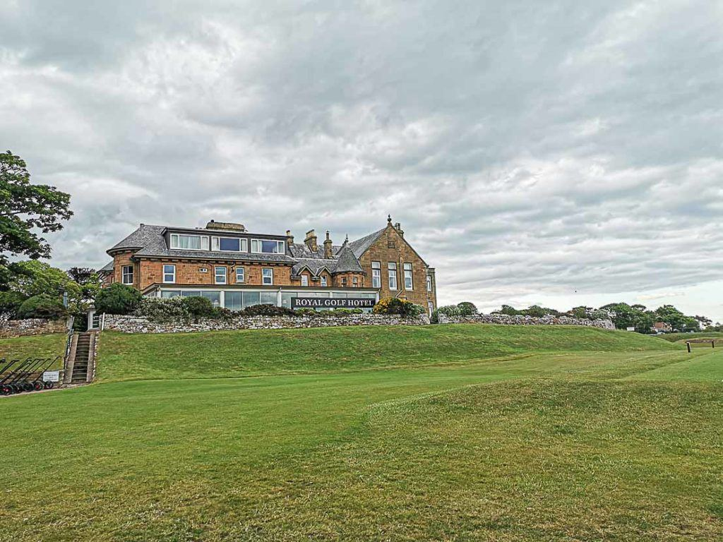 Royal Dornoch Golf Club is a top accommodation in Dornoch, Scotland.