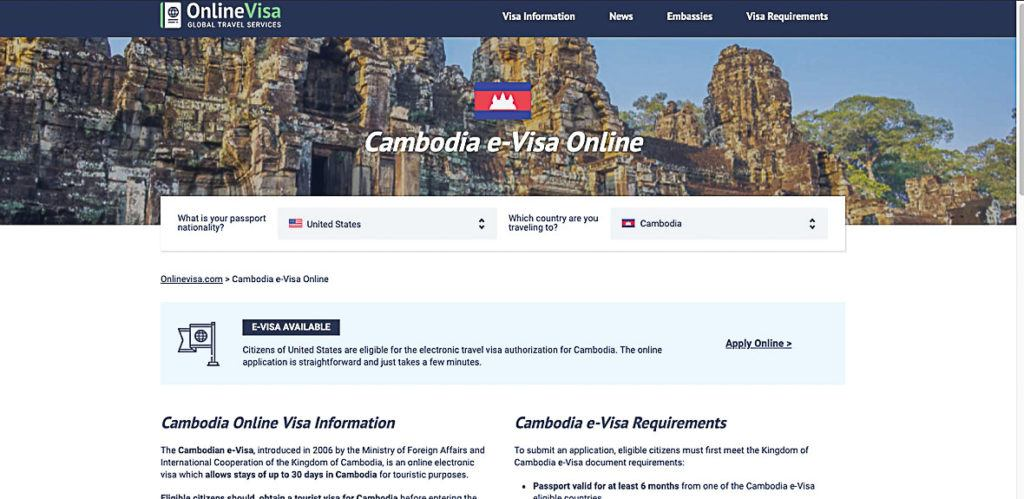 Most of the countries offer visa application online, making traveler's lives so much easier.