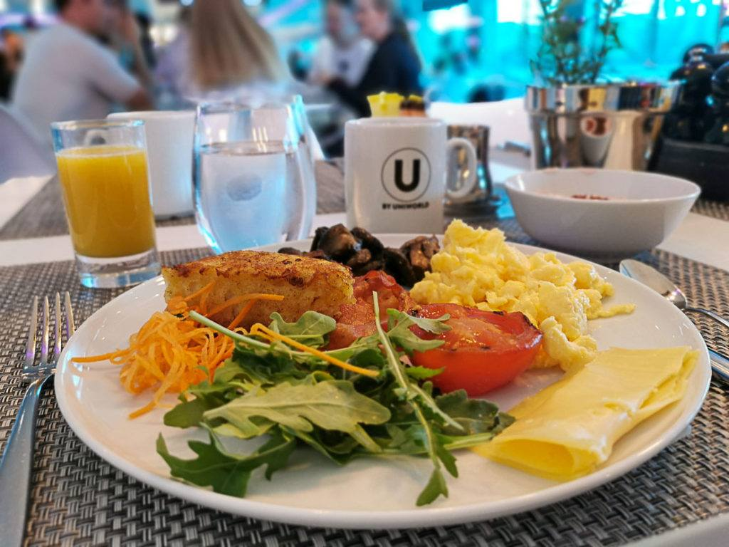 A hearty breakfast was our way to start the day during our Rolling on the Rhine River Cruise.