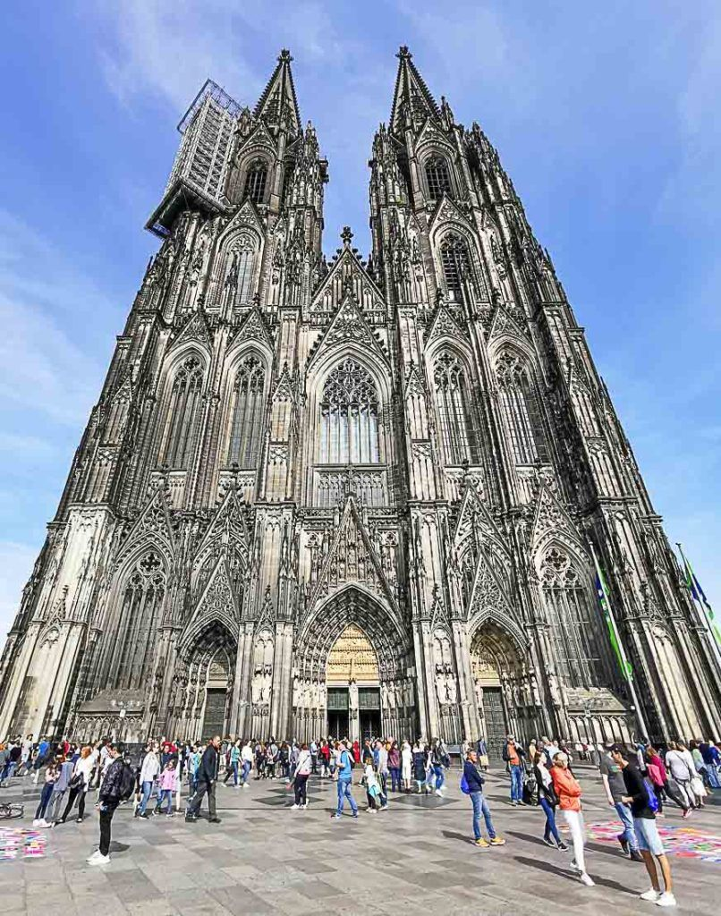 Cologne's Cathedral is an impressive landmark.