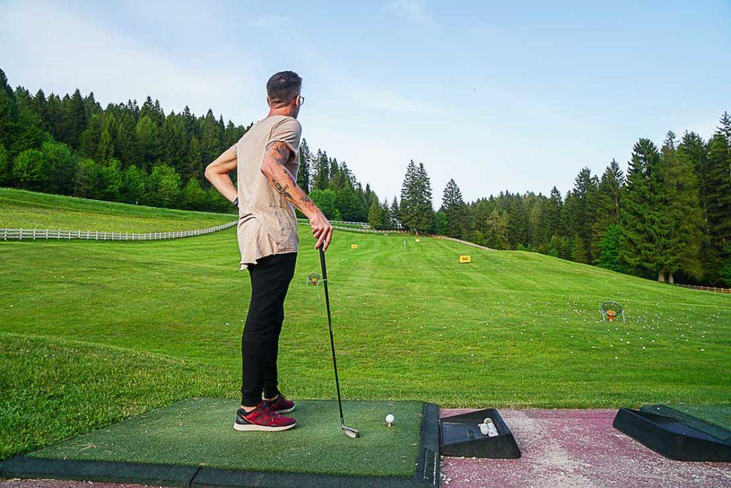 Golf and things to do in the summer in Trentino Italy.