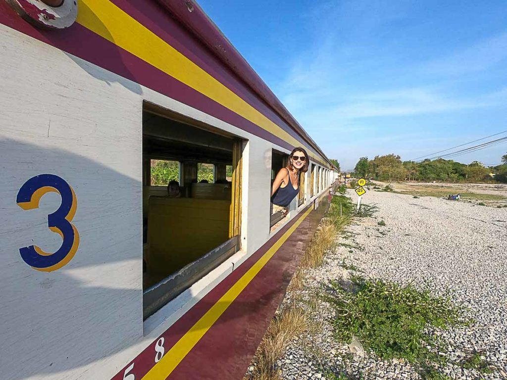 how to get to Phi Phi Island by train