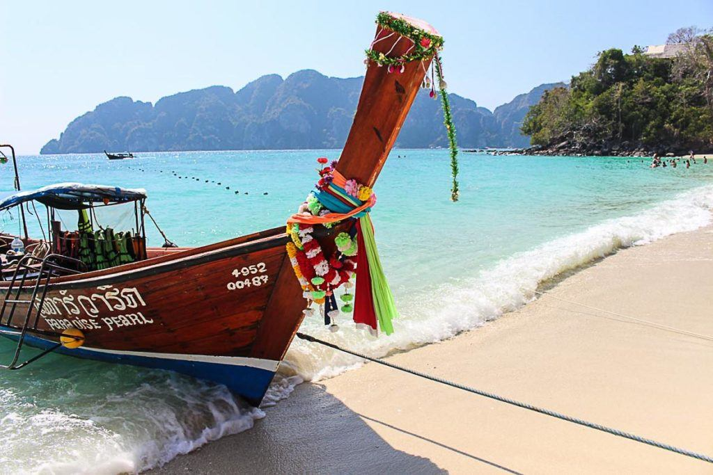 tour boats in Phi Phi Island