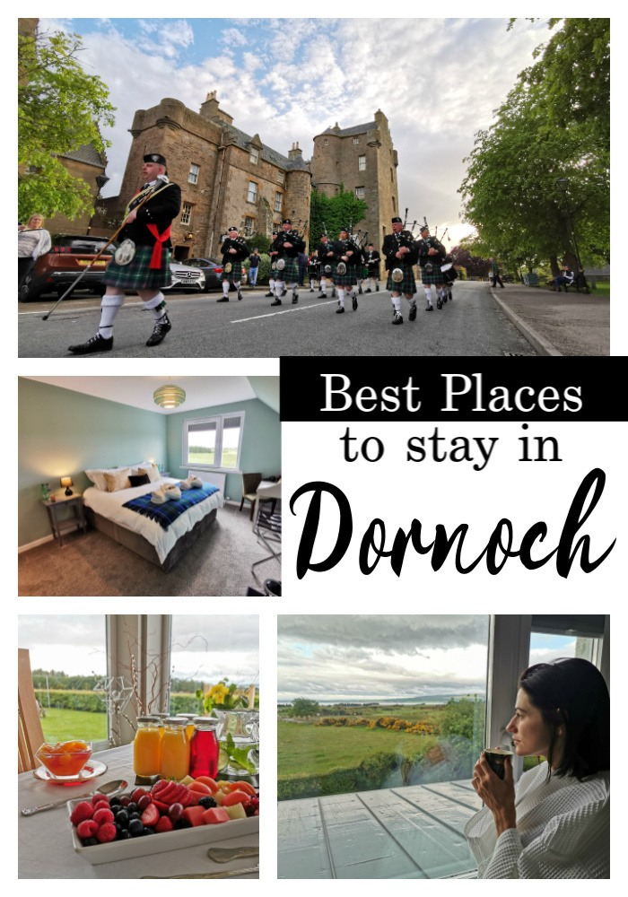 The best hotels, golf hotels and bed & breakfast in Dornoch, Scotland. We put together a list of the best accommodation in Dornoch for all travelers and budget, from luxurious golf resorts to budget B&B. Choose the one that matches your style and enjoy your trip to Dornoch. #Dornoch #DornochScotland #Scotland #DornochCastle #DornochCastlehotel