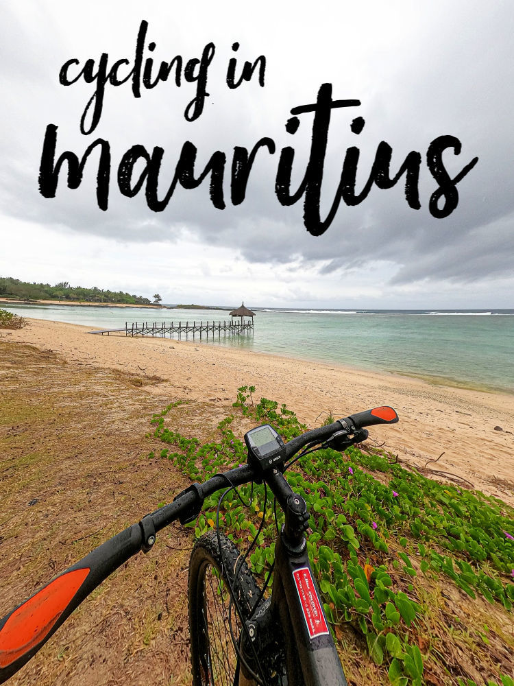 Cycling in Mauritius is an incredible adventure. We did a 5 hours e-bike tour in the Southern part of the island and love it. Our bike tour had stunning beaches, amazing cliffs, green forests, and delicious local food. Read everything about the bike tours in Mauritius here, what to expect, how to book and how to prepare for this adventure. #Mauritius #MauritiusIsland