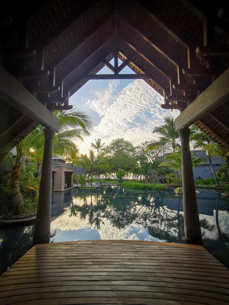 Nas Ilhas Maurício os resorts são incríveis.