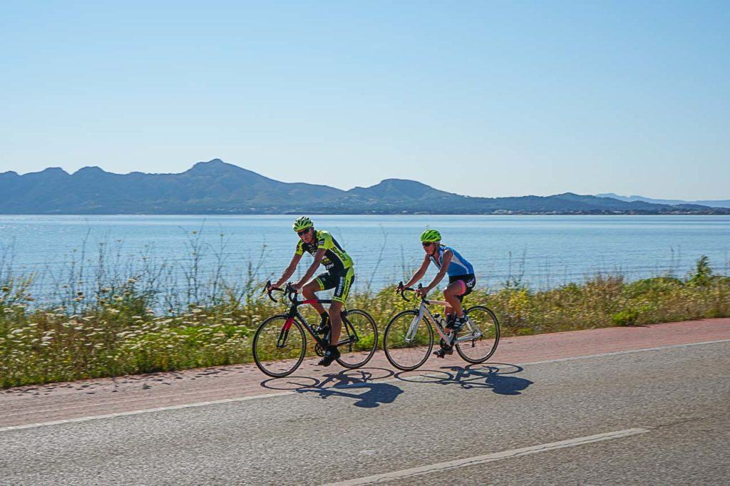 Puerto Pollensa in Mallorca is a paradise for cycling.