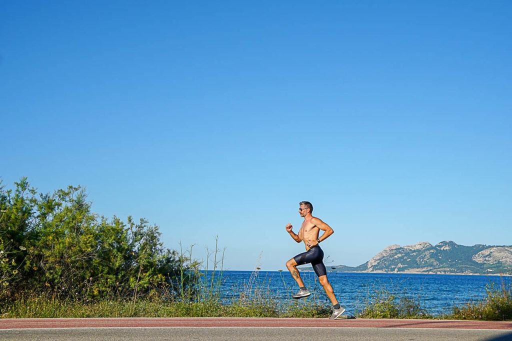 Morning runs are another cool thing to do in Puerto Pollensa.