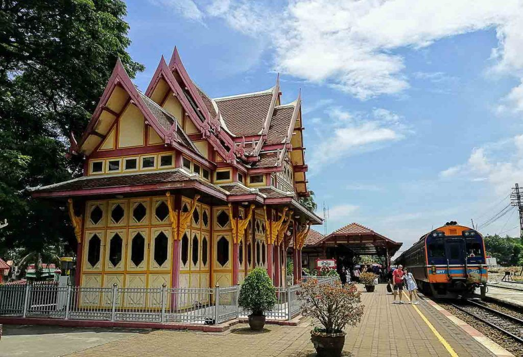 The Hua Hin Railway Station is one of the most popular attractions in Hua Hin.