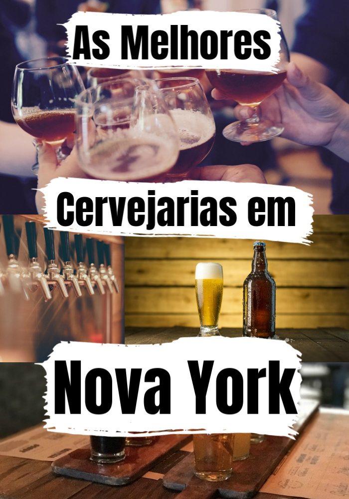 Tá com sede de cerveja boa? Então continua lendo porque fizemos uma lista com as 12 melhores cervejarias em Nova York, EUA. Desde pubs descontraídos a bares em estilo industrial que oferecem as melhores cervejas artesanais de Nova York. Tours com degustação, bares familiares e até uma cervejaria que aceita cães, tem de tudo. Escolha as suas favoritas e embarque em um tour cervejeiro pela Grande Maçã! #cervejariasemnyc #craftbeernyc #melhoresbaresemnovayork #nycbe