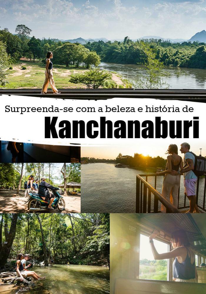 Descubra o que fazer em Kanchanaburi na Tailândia. Supreenda-se com as atrações de Kanchanaburi e lugares pouco conhecidos pelos viajantes. Listamos desde os marcos culturais e históricos, como a Ponte do Rio Kwai e a Ferrovia da Morte, a templos, cachoeiras deslumbrantes e parques naturais. Tem também dicas de onde ficar em Kanchanaburi, como chegar lá e os melhores tours saindo de Bangkok. #Kanchanaburi #tailandia #Kanchanaburioquefazer #kanachanaburihotel