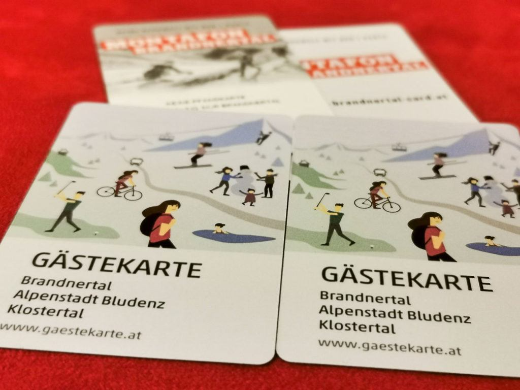 You will need both Brandnertal card and Brandnertal ski pass for your ski trip in Vorarlberg.