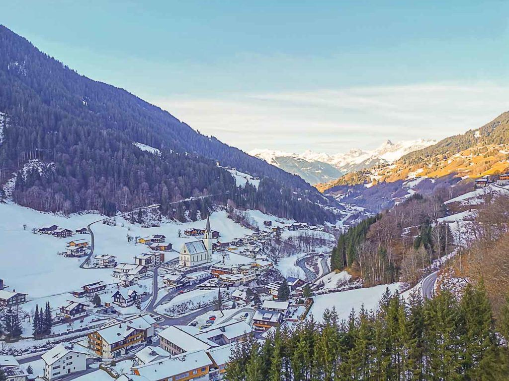 Winter in Montafon is perfect for travelers that love snow sports.