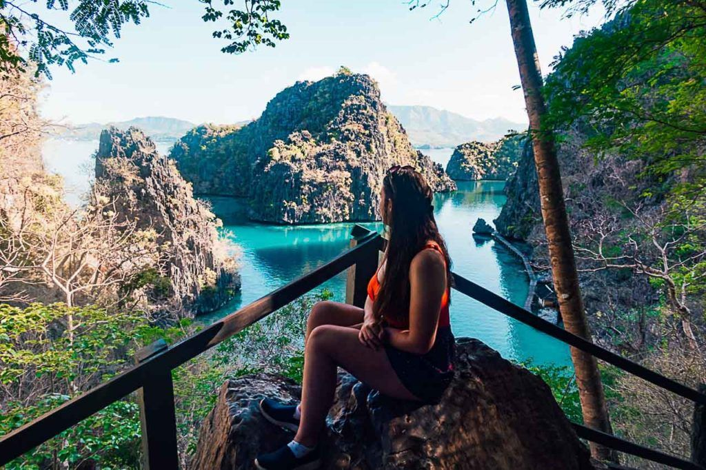 Coron or El Nido? Kayangan Lake in Coron is known as the cleanest lake in Asia.