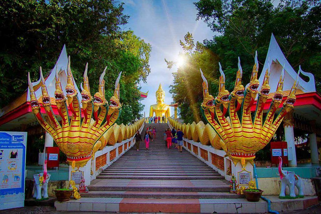Wat Phra Khao Yai or Big Buddha is among Pattaya best tourist places.