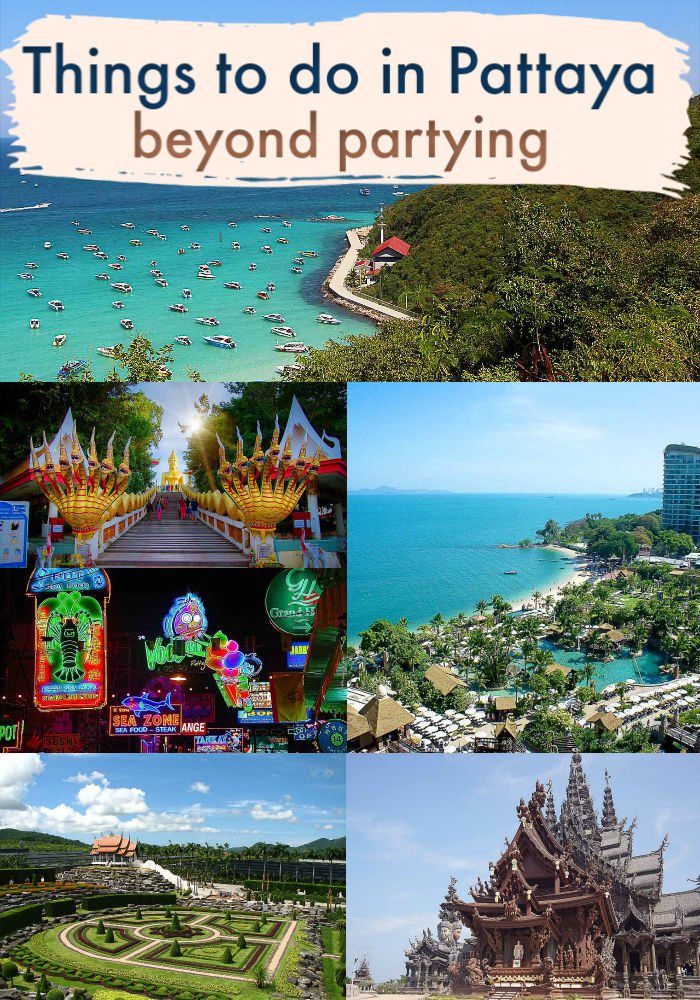 Pattaya is worth a visit. This beach city in Thailand is famous for its nightlife and endless parties, but it offers a lot more to keep families, couples, and kids entertained for days. We listed the best things to do in Pattaya beyond its party scene. Cultural attractions, beaches, and islands to visit in Pattaya. Plus how to travel to Pattaya, where to stay, best hotels and more. #Pattayathailand #Pattayabeach #pattayathingstodo #pattayawalkingstreet #pattayahotels