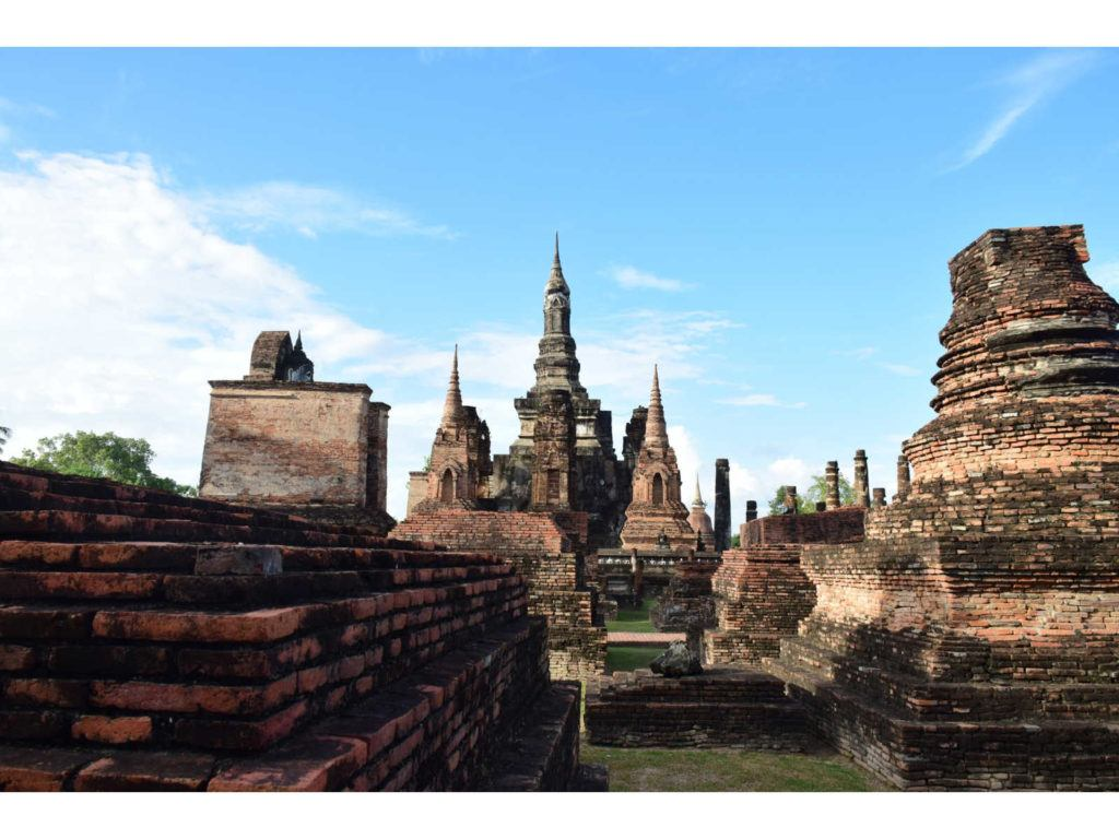Visiting the ruins in Sukhothai Historical Park is amongst the best things to do in Sukhothai, Thailand's first capital.