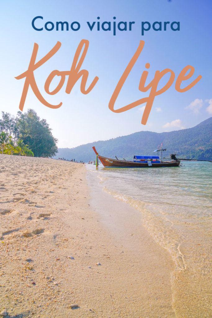 Dicas de como chegar em Koh Lipe, na Tailândia. Melhores rotas, horários e preços de voos, ônibus e ferry para Koh Lipe. Tudo o que você precisa saber para viajar para essa ilha deslumbrante a partir de qualquer destino ou cidade da Tailândia. Tem também dicas sobre como reservar suas passagens para Koh Lipe online garantindo o melhor preço e viajando com tranquilidade e segurança. #kohlipe #kohlipetailandia #kohlipeviagem #kohlipepraia #kohlipemapa #kohlipeferry