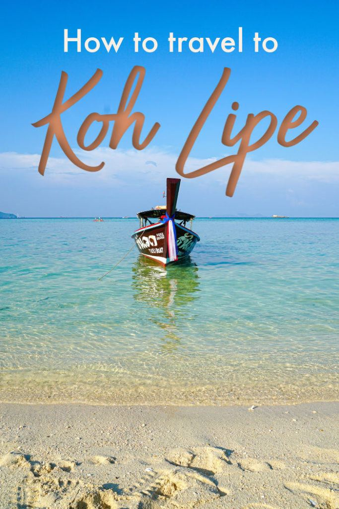 Travel tips on how to get to Koh Lipe in Thailand. Best routes, timetables, and prices of flights, bus, and ferry to Koh Lipe Island. All you need to know to travel to paradise from any destination or city in Thailand, plus advice on how to book your tickets to Koh Lipe online and advance, so you can travel hassle-free without spending much. #kohlipetravel #kohlipethailand #kohlipemap #kohlipeferry #kohlipebeach