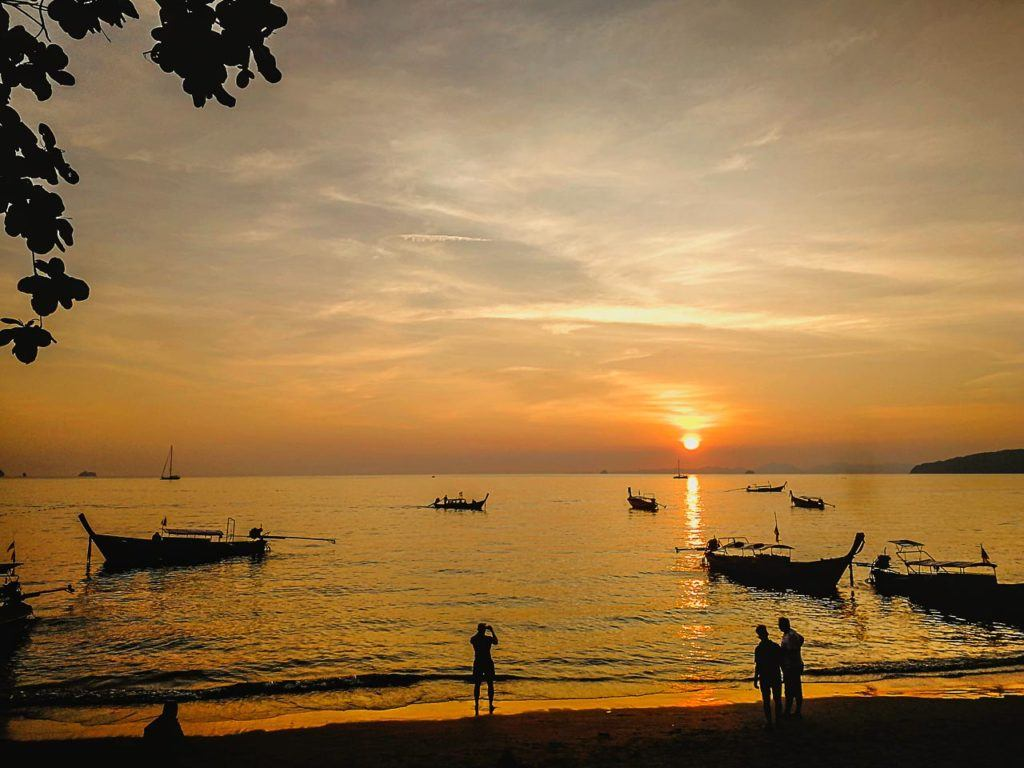 Beautiful beaches, sunrises and sunsets are amongst the reasons to travel to Krabi.