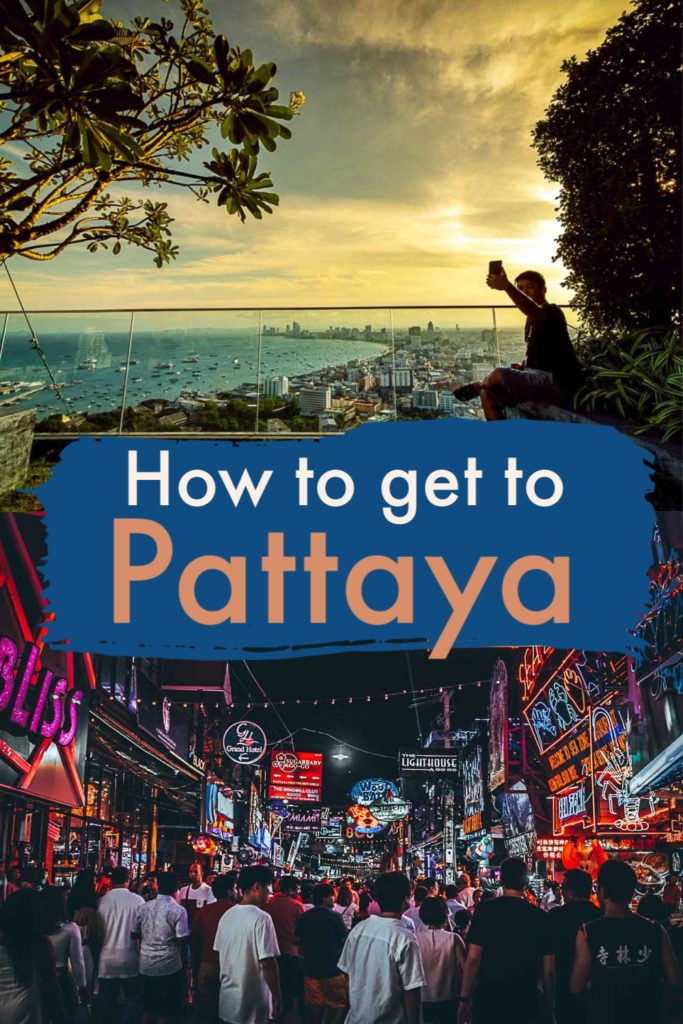 A detailed guide about how to travel to Pattaya, Thailand. The best routes, timetables, and prices of transportation to Pattaya from Bangkok and other destinations in the country. Everything you need to know before booking your flight, train, ferry, or bus to Pattaya. #thailand #pattaya #pattayatravel #pattayaferry #pattayabus